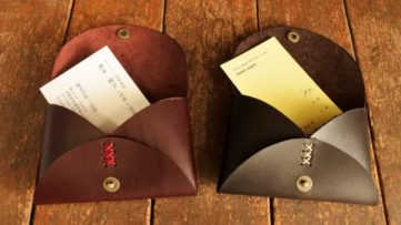篠山・レザーで一生モノのグッズが作れる1Dayワークショップ!
