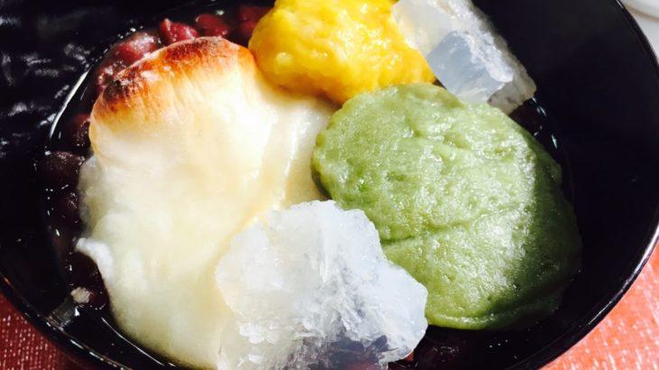 【ぜんざいMAP】御氷餅(こおりもち)ぜんざい@孔雀のぱい