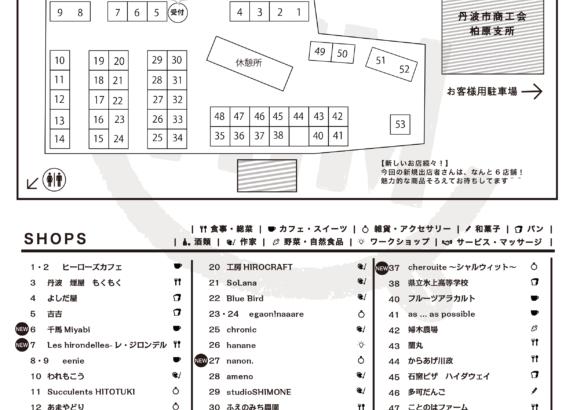 【MAP】7/14ブースMAPはこちら!
