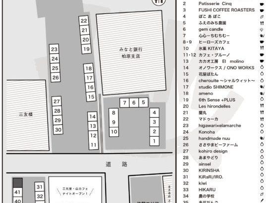 【MAPもあるで!】8/10丹波ハピネス【ナイト】マーケット出店者一覧表!
