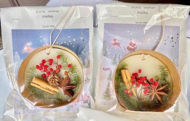 おしゃれなお花の贈り方!可愛いい香りのアロマワックスバー・matka