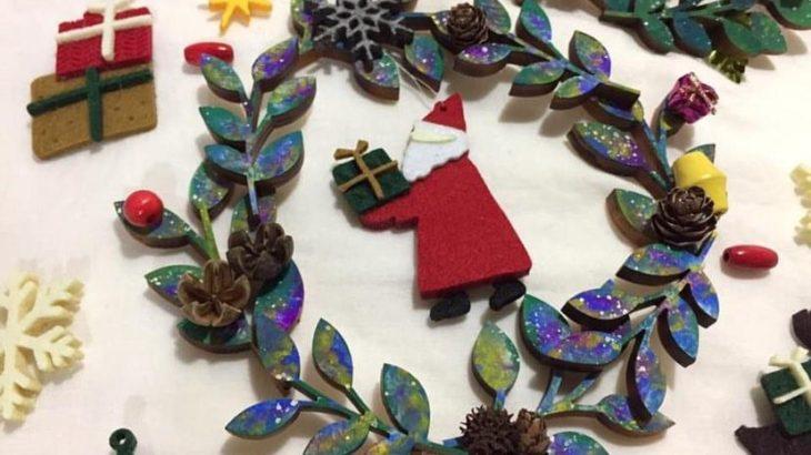 【ワークショップ】クリスマスに素敵なコラボ ✳︎ Blue Bird +egaon !naare