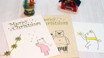 活版印刷ワークショップもクリスマスモード♪「廣運舘活版所」